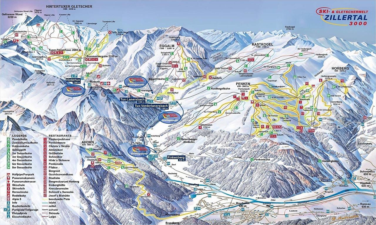 Skiwetter Tirol Wetter :: wetter.at